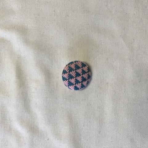 くるみボタン小